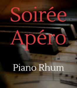 Soirée Piano Rhum de Caviste Nancy, Cellier Saint Alain à Jarville