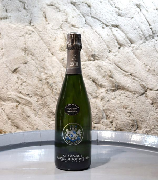 Champagne BARONS DE ROTHSCHILD Brut Millésimé 2010