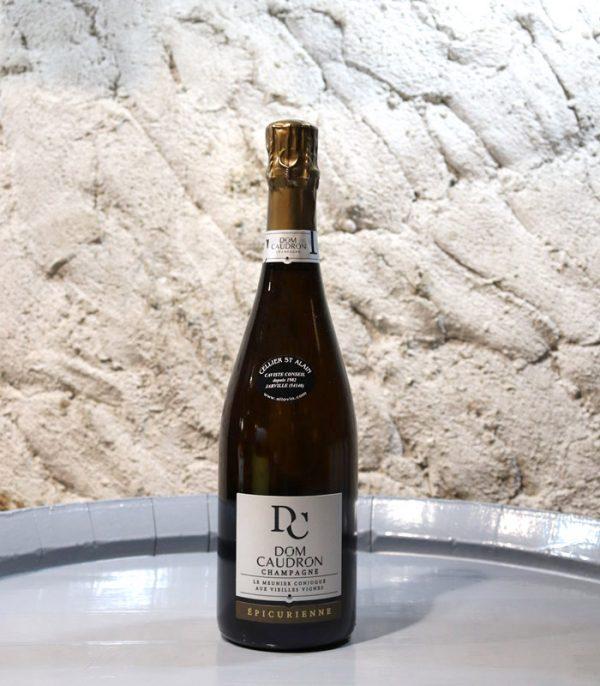 Champagne DOM CAUDRON Brut «Epicurienne»