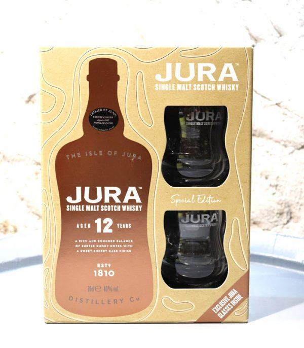 Coffret whisky Jura 12 ans Caviste Nancy