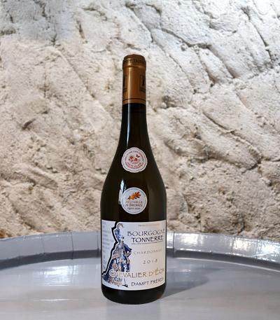 BOURGOGNE TONNERRE Chardonnay - Chevalier d'Eon du Domaine Dampt